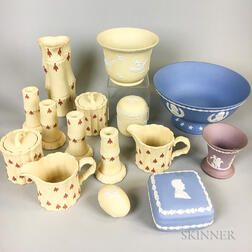 Fifteen Modern Wedgwood Jasper Items