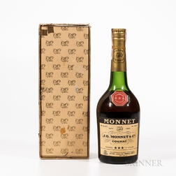 Monnet Three Star, 1 4/5 quart bottle (oc) Spirits cannot be shipped. Please see http://bit.ly/sk-spirits for more info.