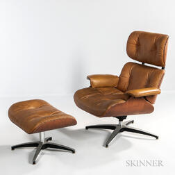 Selig Lounge Chair and Ottoman