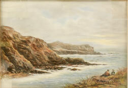 Attributed to John Appleton Brown (American, 1844-1902)      Coastal Landscape