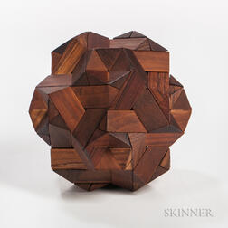 Stewart T. Coffin (b. 1931) Jupiter Wood Puzzle