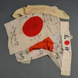 Group of Japanese WWII Objects