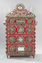 Rick Ladd Bottle Cap Chest of Drawers