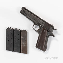 Colt Model 1911A1 Semiautomatic Pistol with Soviet Markings