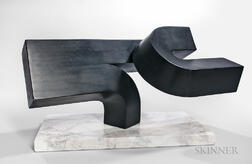 Attributed to Clement L. Meadmore (Australian, 1929-2005)      Model for Hereby