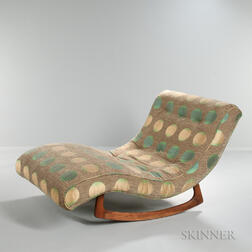Adrian Pearsall Rocking Chaise Longue