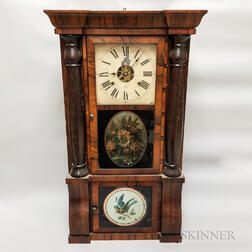 Seth Thomas Rosewood Eight-day Mantel Clock