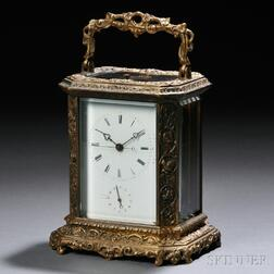Brass Hour-repeating Carriage Clock