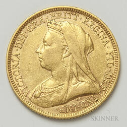1894-M British Gold Sovereign