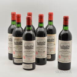 Chateau Grand Puy Lacoste 1982, 7 bottles