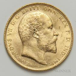 1910-S British Gold Sovereign