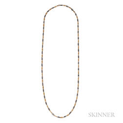 18kt Bicolor Gold Chain