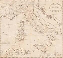 Carey, Matthew (1760-1839) Six Uncolored, Framed Maps from his General Atlas.