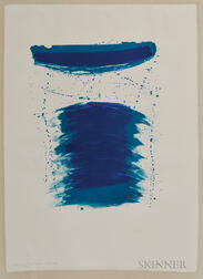 Sam Francis (American, 1923-1994)      Very First Stone