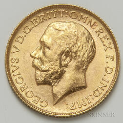 1925 British Gold Sovereign