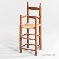 Early Turned High Chair