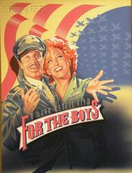 American School,  20th Century      Advertising Design for the Film For the Boys