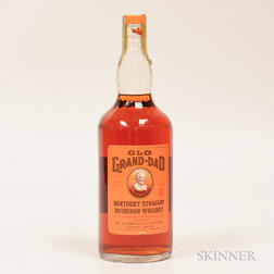 Old Grand Dad 5 Years Old 1961, 1 quart bottle