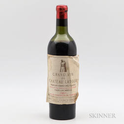 Chateau Latour 1952, 1 bottle