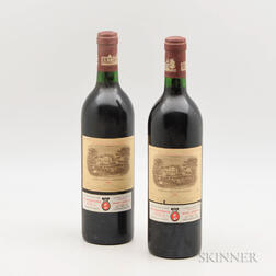 Chateau Lafite Rothschild 1986, 2 bottles