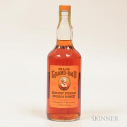 Old Grand Dad 4 Years Old 1966, 1 quart bottle