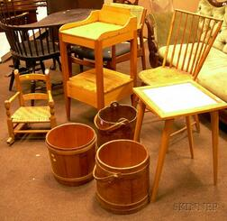 Nine Country Furniture and Accessory Items