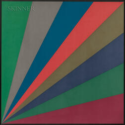 Sol LeWitt (American, 1928-2007)      Bands of Color from Lower Left Corner / A Suite of Two Works