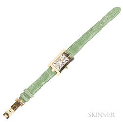 "18kt Gold ""Avenue"" Wristwatch, Harry Winston"