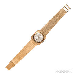 Lady's 18kt Gold Wristwatch, Omega