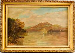 Three Framed Landscape Oil Paintings