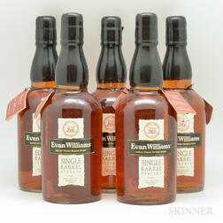 Evan Williams Single Barrel 2000, 5 750ml bottles