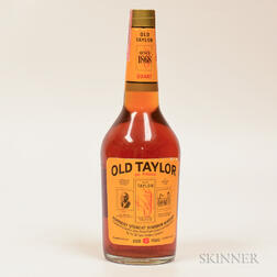 Old Taylor 6 Years Old, 1 quart bottle