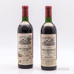 Chateau Gombaude Gillot 1959, 2 bottles