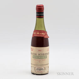 Mongeard Grands Echezeaux 1961, 1 demi bottle
