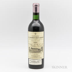 Chateau La Mission Haut Brion 1966, 1 bottle
