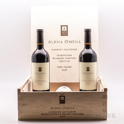 Alpha Omega Beckstoffer To Kalon 2016, 3 bottles (owc)