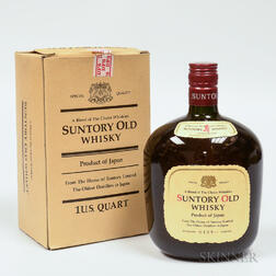 Suntory Old Whisky, 1 quart bottle (oc)