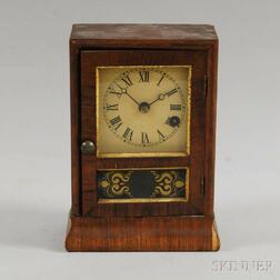 Seth Thomas Rosewood Cottage Clock