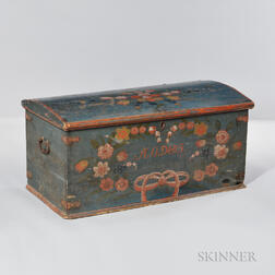 Painted Pine Chest