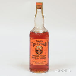 Old Grand Dad 4 Years Old 1955, 1 4/5 quart bottle