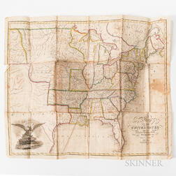 Schoyer, Solomon, Map of the United States Drawn from the Most Approved Surveys.
