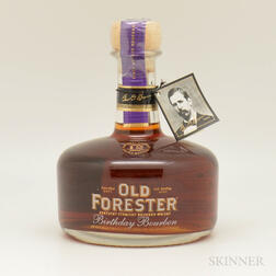 Old Forester Birthday Bourbon 12 Years Old 2001, 1 750ml bottle