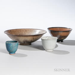 Four Pieces of Edwin and Mary Scheier Pottery