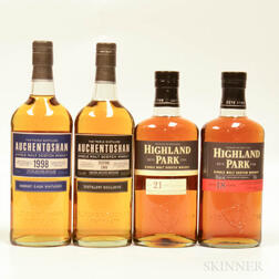 Mixed Single Malts, 4 bottles