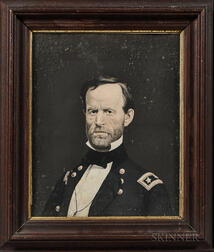 Lithograph Portrait of General William Tecumseh Sherman