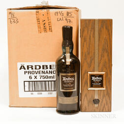 Ardbeg Provenance 1974, 6 750ml bottles (owc)