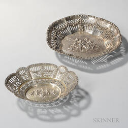 Two German Silver Dishes