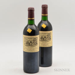Chateau Cantemerle 1989, 2 bottles