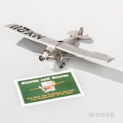 Lindbergh's Ryan N-X-211 Spirit of St. Louis   Aviation Model