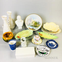 Twenty Ceramic Items